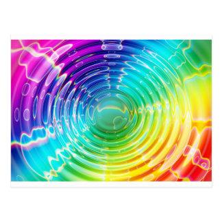 虹の衝撃波 ポストカード