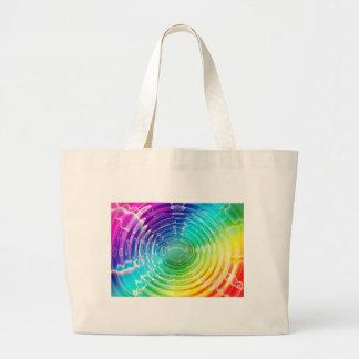 虹の衝撃波 ラージトートバッグ