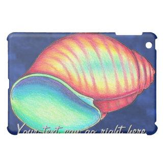 虹の貝殻のiPadの場合 iPad Miniケース