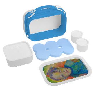 虹の赤ん坊のお弁当箱 ランチボックス