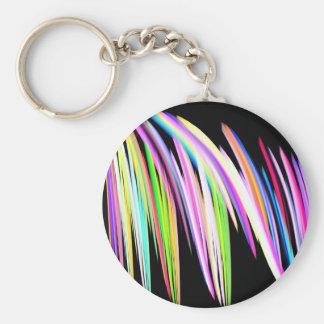 虹の走り書き キーホルダー