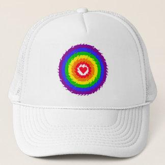 虹の車輪の帽子 キャップ