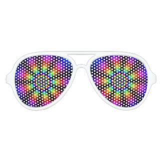 虹の輝やき アビエーターサングラス