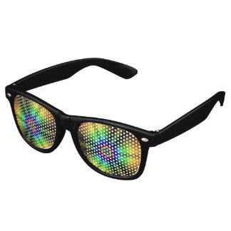 虹の輝やき レトロサングラス