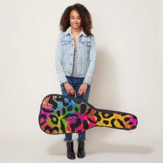 虹の迷彩柄 ギターケース