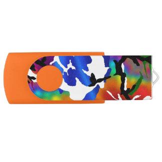 虹の迷彩柄 USBフラッシュドライブ