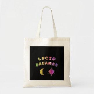 虹の透明な夢みる人の幼児のバッグの設計 トートバッグ