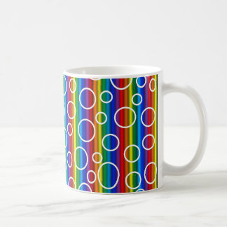 虹の透明な泡マグ コーヒーマグカップ