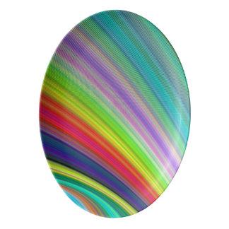 虹の速度 磁器大皿