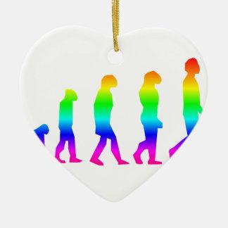 虹の進化 セラミックオーナメント