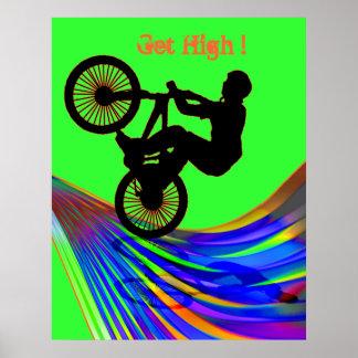 虹の道のBMX ポスター