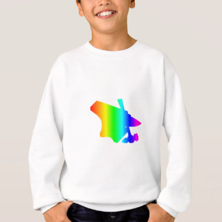 虹の金敷 スウェットシャツ
