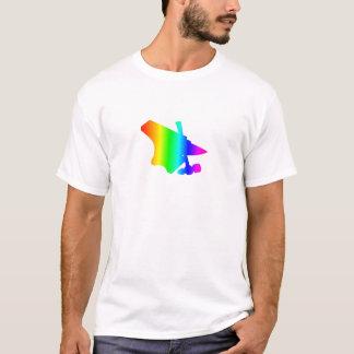 虹の金敷 Tシャツ