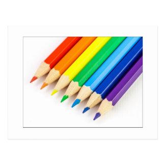 虹の鉛筆 ポストカード
