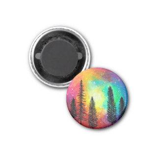 虹の銀河系の磁石-虹の森林磁石 マグネット