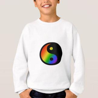 虹の陰陽 スウェットシャツ
