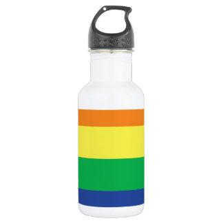 虹の陽気な自由のプライドの旗の記号 ウォーターボトル