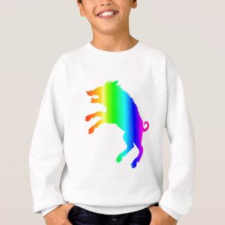 虹の雄豚 スウェットシャツ