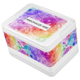 虹の雨泡 IGLOOクーラーボックス