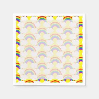 虹の雲 スタンダードカクテルナプキン