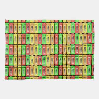虹の電話ボックス ハンドタオル