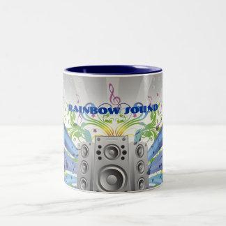 虹の音 ツートーンマグカップ