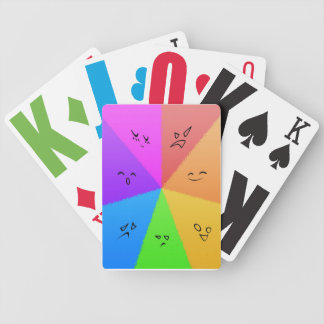 虹の顔カード バイスクルトランプ