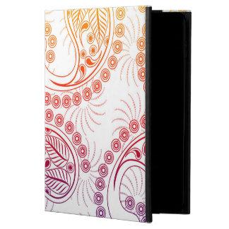 虹の風車のペイズリーのデザイン POWIS iPad AIR 2 ケース