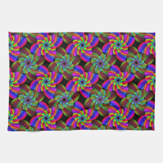 虹の風車の台所タオル キッチンタオル