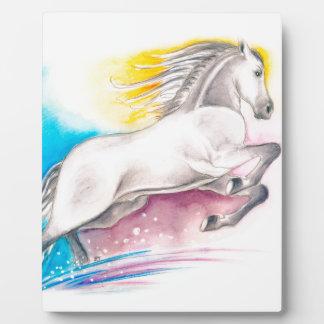 虹の馬 フォトプラーク