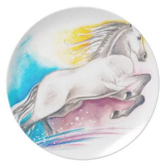 虹の馬 プレート