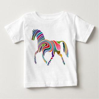 虹の馬 ベビーTシャツ