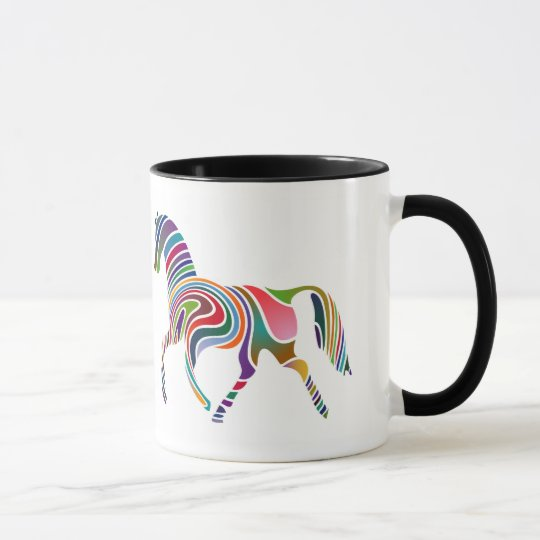 虹の馬 マグカップ