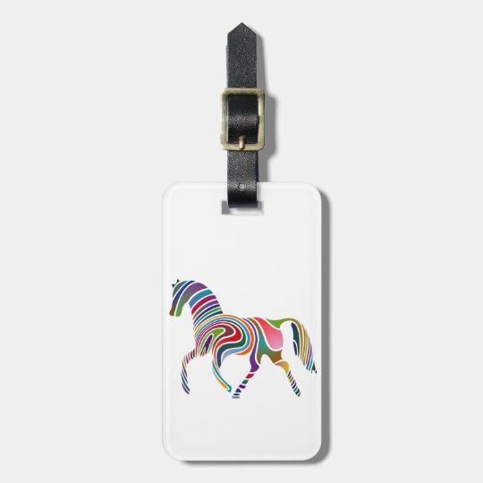 虹の馬 ラゲッジタグ