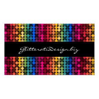 虹の魅力的な名刺