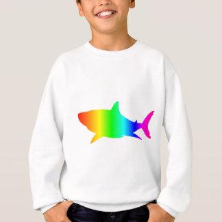 虹の鮫 スウェットシャツ