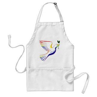 虹の鳩 スタンダードエプロン