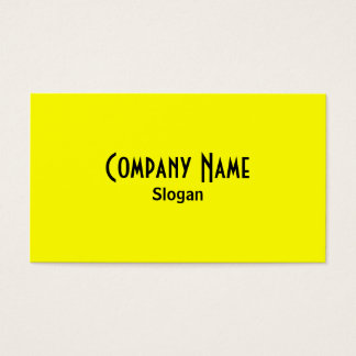 虹の黄色い名刺 名刺