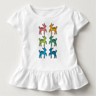 虹のBambiパターン トドラーTシャツ