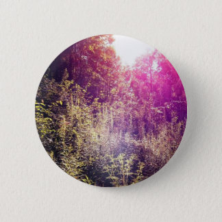 虹のForrestの標準、2つの¼のインチの円形ボタン 5.7cm 丸型バッジ