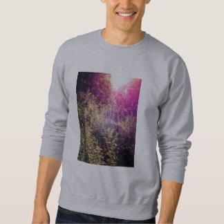 虹のForrestの男性基本的なスエットシャツ スウェットシャツ