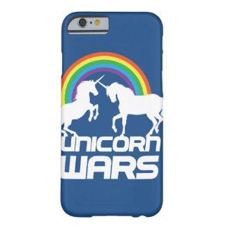 虹のiPhoneの場合とのユニコーン戦争 Barely There iPhone 6 ケース