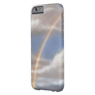 虹のiPhone 6のやっとそこに場合 Barely There iPhone 6 ケース