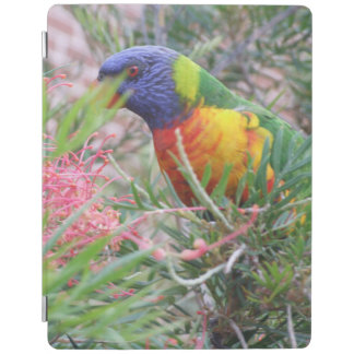 虹のLorikeetのiPadカバー iPadスマートカバー