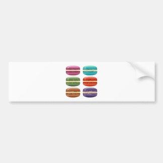 虹のmacarons バンパーステッカー