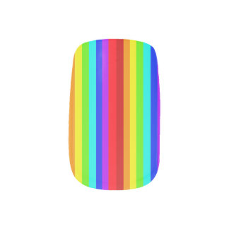 虹のMinx ネイルアート