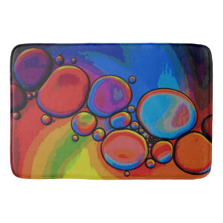 虹のPebbledの細道 バスマット