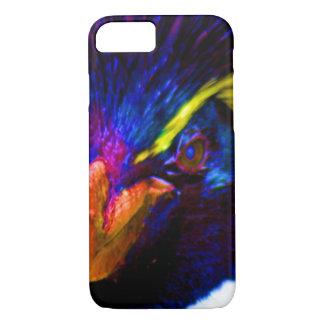 虹のRockhopperのペンギン iPhone 8/7ケース