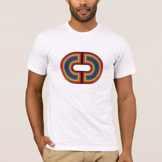 虹のTシャツ Tシャツ