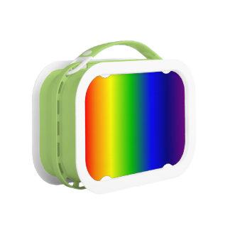 虹はお弁当箱の緑を着色します ランチボックス